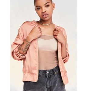 Urban Outfitters Silence + Noise bomber jacket NWT